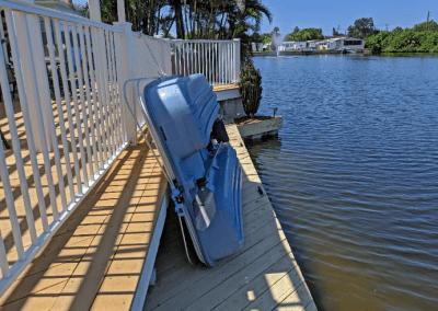Paddleboats and Kayaks